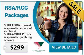 RSA RCG NSW Sydney